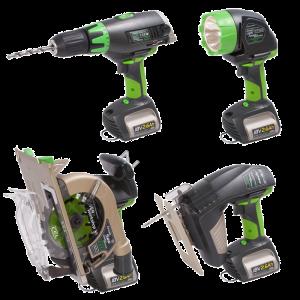 Repasujeme baterie pro všechny druhy ručního nářadí a strojů